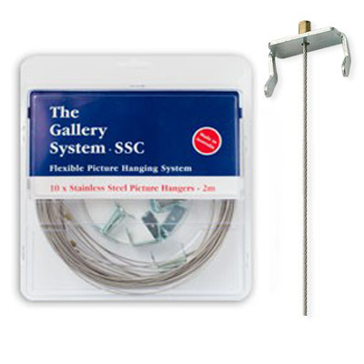 STEP 2 – Select Your Stainless Steel Picture Hanging Cables
