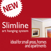 NEW SLIMLINE PICTURE HANGING SYSTEM