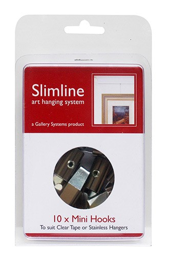Mini Slimline Picture Hanging Hooks