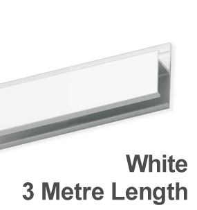 Picture Hanging System Track - White - 3m