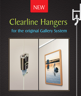 THE CLEARLINE HANGER - Possible our most unobtrusive hanger yet!